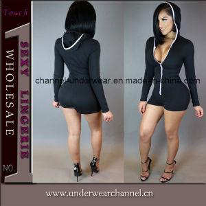 Fashion Lady' s les femmes Club partie Catsuit Jumpsuit (TBLSN66132)