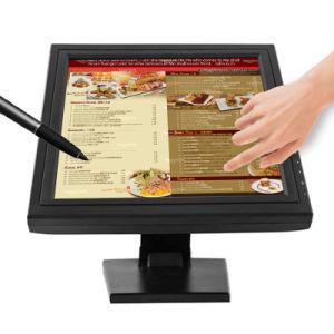 POS 15 polegadas LCD monitor de ecrã táctil Resistivo para ATM
