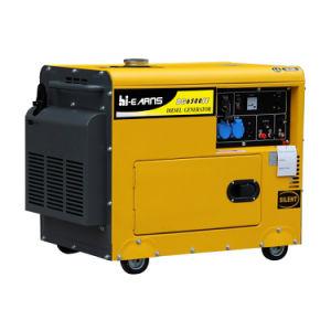 generatore diesel insonorizzato portatile silenzioso del singolo cilindro raffreddato aria 10HP