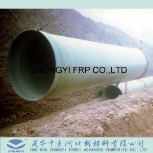 FRP/GRP hoge Corrosiebestendige Pijp voor het Leveren of Riolering Drainning van het Water