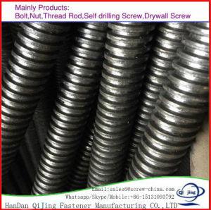 DIN975 DIN976 entièrement filetée en acier au carbone galvanisé filetage de la tige à filetage Bar, tige filetée