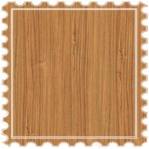 Pisos laminados de madera de teca de la Junta efectos para la decoración de interiores tierra
