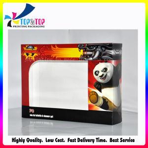 Window를 가진 각종 Size 4c Printing Paper Shallow Gift Box