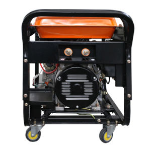 5kw diesel de gran potencia del generador de soldador