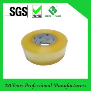 band van het Broodje van de Verpakking BOPP van 1280mm*4000m de Acryl Geelachtige Jumbo