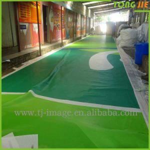 環境に優しい屋外のハングの広告の道の網の旗