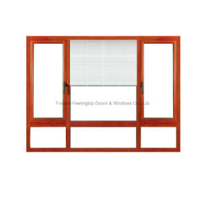 Finestra eccellente del metallo di Feelingtop Insultion con il vetro temperato rivestito (FT-W80)