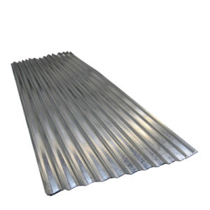 Lamiera di acciaio ondulata rivestita galvanizzata tuffata calda dello zinco