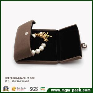 Het aangepaste Afgedrukte Met de hand gemaakte Vakje van de Gift van het Document van Juwelen voor Juwelen/Ring/Halsband/Armband/de Verpakking van Oorringen
