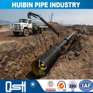 波形の下層土のプラスチックHDPEの排水の管