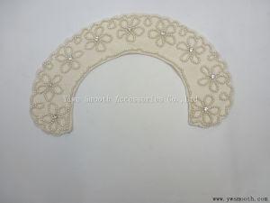 I collari staccabili del Rhinestone della perla copre gli accessori dell'indumento del vestito dal Choker di Appliques