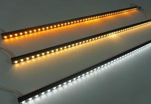 9W Aluiminum linear rígido Barra de LED de luz para iluminação de exterior