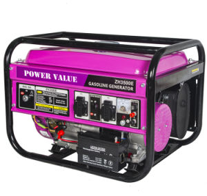 2kw Generator mit Petrol Engine Gasoline Generator 4 Stroke Ohv Air Cooled Highquality Withfour Stage Ohv Aic Cooled Engine