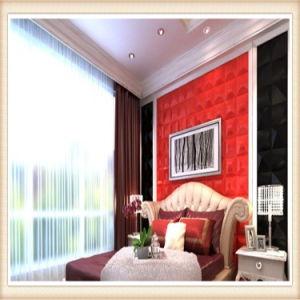 3D Relief en PVC étanche panneau mural pour salle de séjour