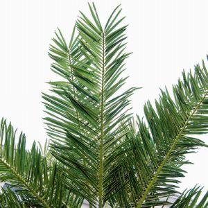 Горячая продажа крупных сетевых имитация на море дата дерево интерьера искусственное дерево