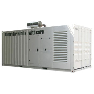 60Hz 1250KW insonorisé Groupe électrogène diesel Cummins