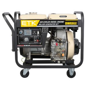 Nouveau type de générateur de soudeur Diesel pour la vente (2.5/5KW)