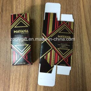 La impresión de lámina de oro de chocolate de cartón caja de embalaje de papel Mostrar caja de regalo
