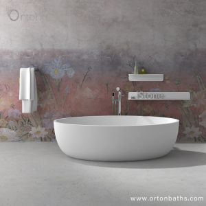 最も新しいシンプルな設計の小型支えがなく安い価格の陶磁器の浴槽を取り替える速い配達のための楕円形の浴室の浴槽