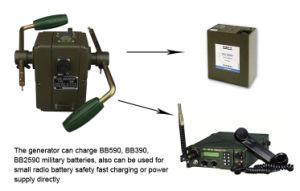 携帯用手動クランクの電気発電機65W (SHJ-SD65W)