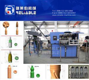 Cavitiyes automática de 4 botella de plástico Máquina Modling golpe