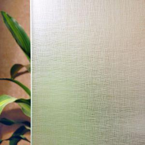 Het decoratieve Gebrandschilderd glas van de Kunst van het Patroon voor de Bouw