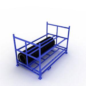 Le fret commercial de transport de l'espace de stockage de l'enregistrement Q235 Rack Revêtement en poudre