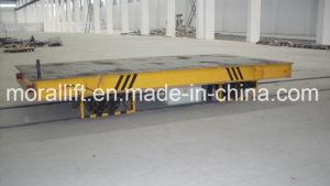 Carrinho de reboque eléctrico operado fácil para uso industrial com marcação CE
