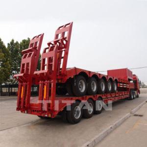 Lowboy Lowbed 3 Welle Bett-Schlussteil-Preis-LKW-halb Schlussteile 80 Tonneder hochleistungsgooseneck-niedrige Ladevorrichtungs-/Lowbed/Lowboy niedrige für Exkavator-Transport