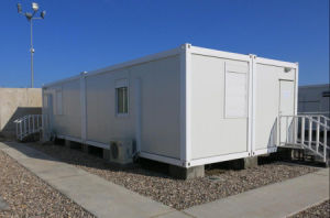 Prefab Modulair Sta-caravan met Vlakke Pakken
