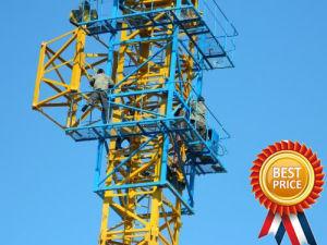 8 Kraan Met platte kop van de Toren van de ton -25ton de Hydraulische met de Beste Prijs van de Plaats