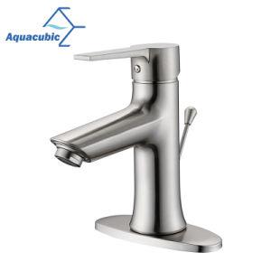 Cupcは真鍮ボディ単一のハンドルの立水栓を証明した