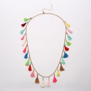 De Boheemse Gekleurde Halsband van de Leeswijzer van Parels Lange