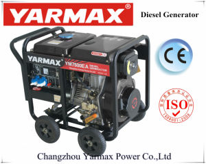 Aprire il tipo la monofase 2.8kVA 3.2kVA Genset diesel Generatorym6500eb-I elettrico