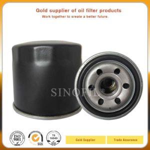 Высокое качество автозапчастей 15601-87703 масляного фильтра для Toyota с черного цвета