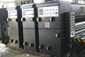 波形のカートン作成機械のためのSlotter送り装置のFlexoチェーンプリンター