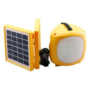 El campamento de salvar el medio ambiente Proteger el campo de la luz de la Energía Solar LED