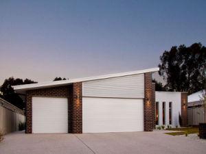 Automático de alta calidad de la seguridad de aluminio exterior puerta de persiana Roller