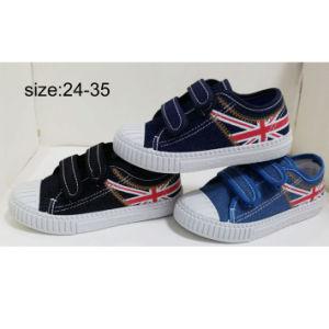 Inyección de nuevo estilo de los niños del muchacho Sneakers zapatos casual Zapatos de lona (HH1810-8)