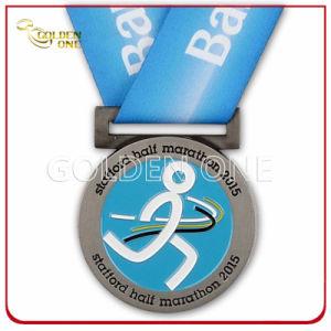 競争の金属の習慣3Dは実行賞メダルを彫刻した