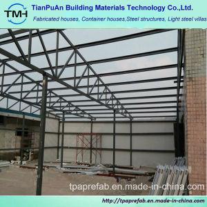 El precio bajo la lámina de acero de color Envoloped Estructura de acero de la luz de la construcción