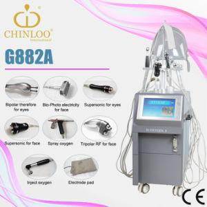 Design avançado de RF Multipolar oxigênio hiperbárico Salão de equipamentos para o rejuvenescimento da pele (G882A/EC)