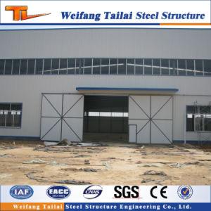 Material de estructura de acero de la luz de la construcción de cobertizos y almacenamiento con un bajo precio de coste
