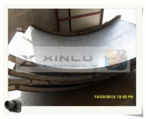 Filtre en coin plat Wie panneau / Profil de fil de la plaque d'écran