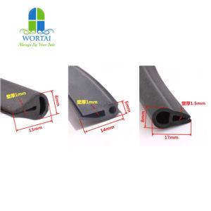 Custom de caucho EPDM de alta calidad de la Junta perfil U impermeable TIRA tira de sellado de tiempo