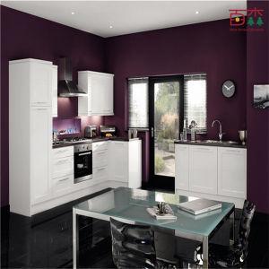 Pittura Cucina Moderna.La Cucina Moderna Progetta L Armadio Da Cucina Moderno Della Pittura Bianca Lucida
