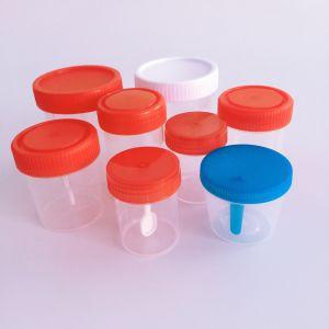 병원 사용 메마른 소변 견본 컵 도매가 소변 콘테이너
