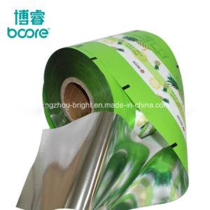Embalagem de plástico filme para sacos de pano úmido tornando