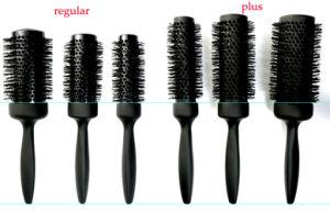 Vs regular alongado Escova térmica Redondo, cerâmica e nanodiamante profissional & canhão iónico golpe de modelação do cabelo escova para caracóis de secagem