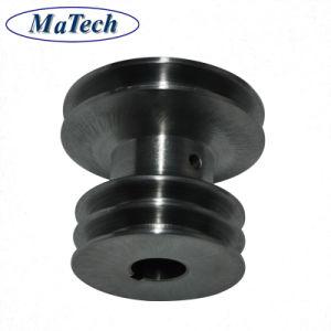 Moulage de pièces personnalisées de fonderie en acier V-moulage en métal de la poulie de courroie